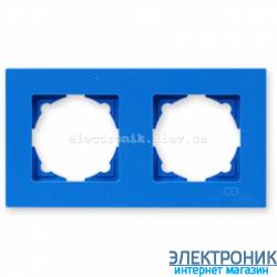 Рамка 2-я Gunsan Eqona голубая
