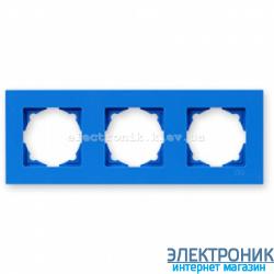Рамка 3-я Gunsan Eqona голубая