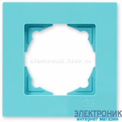 Eqona рамка 1-ая бирюзовая