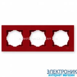 Eqona рамка 3-ая вишневая