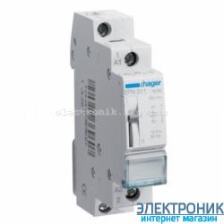 Импульсное реле Hager EPN511 - 12В/16А, 1НО