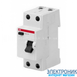 УЗО однофазное ABB Basic M AC-63A 30mA