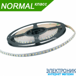 Светодиодная LED лента (холодный свет) 9.6 вт на метр (бабина 5 метров)