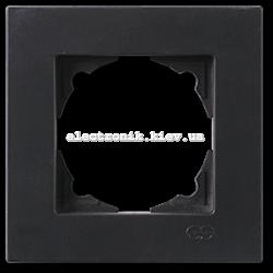 Eqona Рамка 1-я черная матовая