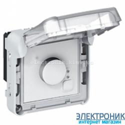 Электронный комнатный термостат Серый Legrand Plexo ip55