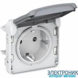 Розетка Серый Legrand Plexo ip55