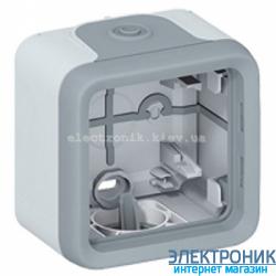 Накладная коробка для розетки легранд Серый Legrand Plexo ip55