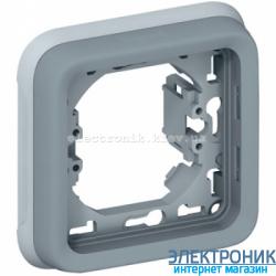 Рамка одноместная Серый Legrand Plexo ip55
