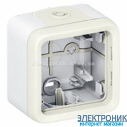 Накладная коробка для розетки легранд Белый Legrand Plexo ip55