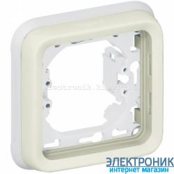Рамка одноместная Белый Legrand Plexo ip55