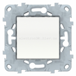 Диммер нажимной (кнопочный) 300Вт для led ламп, Белый, серия Unica New