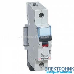 Автоматический выключатель Legrand TX3 -1P 63А, С