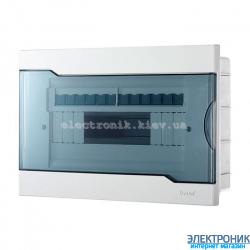 Бокс с прозрачной крышкой ЩРВ-П-12 для внутренней установки 12-и модульных устройств (20шт)