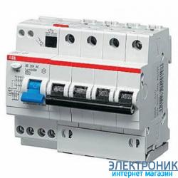 Дифференциальный автомат ABB DS204 63А 30mA