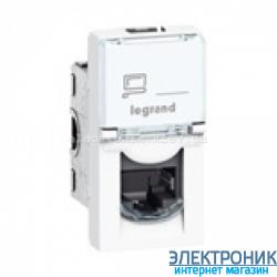 Механізм розетки RJ45 кат.5е UTP 1м LCS, 8 к., Mosaic