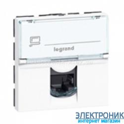 Механізм розетки RJ45 кат.5е UTP 2м LCS, 8 к., Mosaic