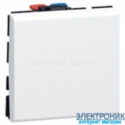 Механизм выключателя 1-кл., 10А, 2 мод., Mosaic