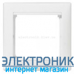 Рамка 1 пост белая Legrand Valena 774451
