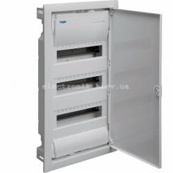 Hager Volta VU36UA. Щит на 36(42) модулей внутренней установки с металлической дверью