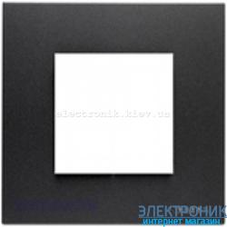 Рамка 1 пост ABВ Zenit антрацит