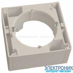 Коробка для наружного монтажа ASFORA слоновая кость, Schneider (Шнайдер)