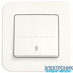 Выключатель проходной одноклавишный VIKO Rollina КРЕМ (90420004)