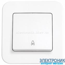 Кнопка звонка VIKO Rollina Белая (90420006)