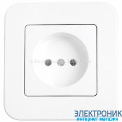 Розетка VIKO Rollina Белая (90420007)