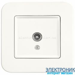 Розетка ТВ проходная 12 дБ VIKO Rollina КРЕМ (90420060)