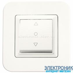 Выключатель для жалюзи одноклавишный VIKO Rollina Крем (90421072)