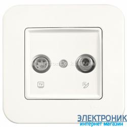 Розетка ТВ / SAT VIKO Rollina КРЕМ (90420085)