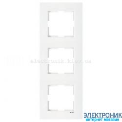 VIKO KARRE БЕЛЫЙ Рамка 3-я вертикальная