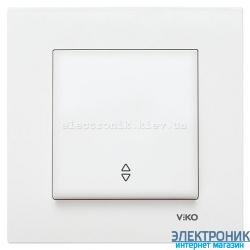 VIKO KARRE БЕЛЫЙ Выключатель проходной