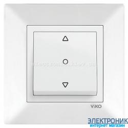 VIKO MERIDIAN БЕЛЫЙ Кнопка управления жалюзи