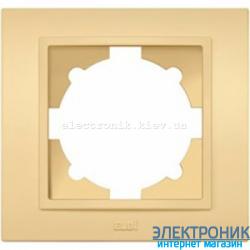 Рамка 1-я EL-BI Zena Colorline Светло-желтый