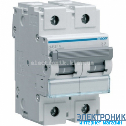Автоматический выключатель Hager HLF290S. Iн=100A, 10кА, хар-ка С