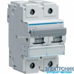 Автоматический выключатель Hager HLF299S. Iн=125A, 10кА, хар-ка С