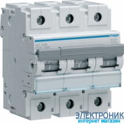 Автоматический выключатель Hager HLF380S. Iн=80А, 10кА, хар-ка С