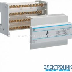 Распределительный блок 4-пол, 125A Hager KJ01C