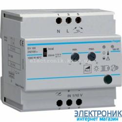 Светорегулятор универсальный 20-1000Вт Hager EV100