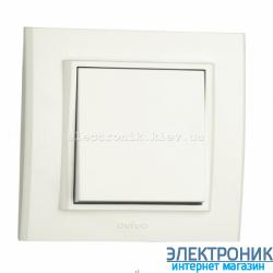 Выключатель MINA 1-й белый OVIVO