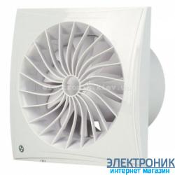 BLAUBERG SILEO 100 Н - вытяжной бесшумный вентилятор с датчиком влажности
