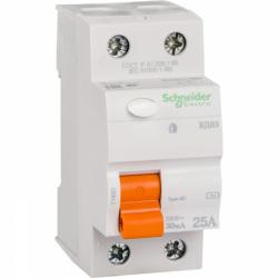 Устройство защитного отключения (УЗО) Schneider-Electric Домовой ВД63 2P 25A 30МA