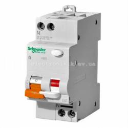 Дифавтомат  Schneider-Electric Домовой  АД63 2П 25A 30МА