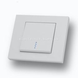 Выключатель одноклавишный с подсветкой Grano