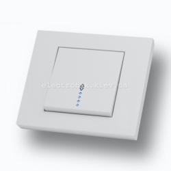 Выключатель проходной с подсветкой Grano
