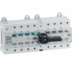 Переключатель трехпозиционный I-0-II, 80А, 400/690В, 4-полюсний, 12м