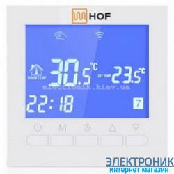 Программируемый терморегулятор для теплого пола HOF pro