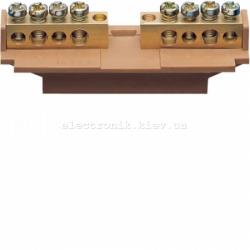 Клемма фазная с держателем 5x16+5x10мм2 Hager