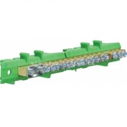 Клемма защитная с держателем 1х25+8x16+8x10мм2 Hager